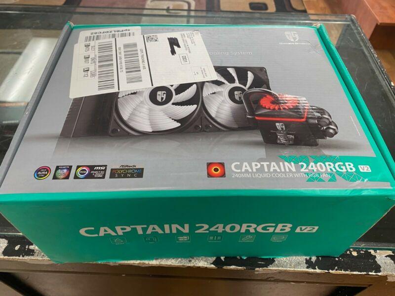 DEEPCOOL Captain 240 RGB V2 - brand new never used