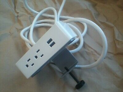 Steelcase Dspsduoc Outlet And Usb Power Strip Desktop With Clamp