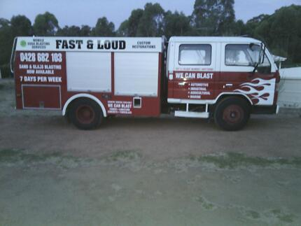 Sand blasting and painting service available  We're also MOBILE Stoneville Mundaring Area Preview