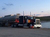 Experienced tank truck driver