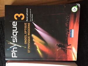 Livre cégep/Physique 1 et 3, chimie générale et algèbre linéaire