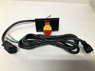 Shop Fox W2001 Onoff Safety Paddle Switch With 7 Cord For 110 Volt Machines