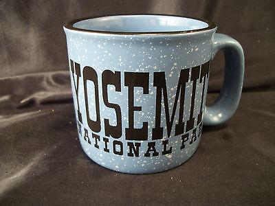 Mug cup Yosemite National Park souvenir blue/black hiking camping travel coffee