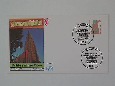 (k815) Berlin Schmuck FDC Michel Nr. 815 Sehenswürdigkeiten Schleswiger Dom