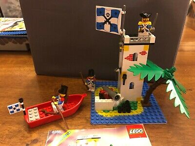 LEGO 6265 PIRATES Sabre Island - 100% Complete w/ instructions Vintage