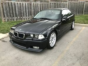 1997 BMW 328is M-Tech Coupe Cosmos Black E36