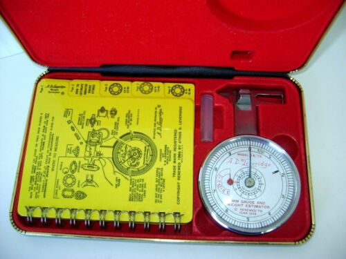 A.D. Leveridge MM Gauge & Estimator by Micromat Model '72 with Case