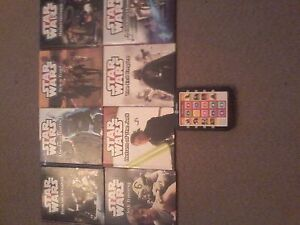 Star War's Story Reader Me Reader set of 8 book's