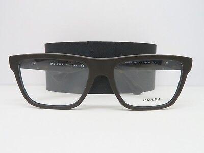 Prada Women's Brown Glasses with case VPR 07S TFD-1O1 56mm