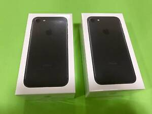 New Sealed IPhone 7 Matt Black Campsie Canterbury Area Preview