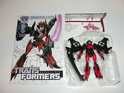Transformers Generations 30th Anniversary WINDBLADE Deluxe Class Figure Complete