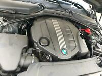 2010 BMW E60 520 2.0TD DIESEL COMPLETE N47D20A ENGINE AND AUTOMATIC GEARBOX