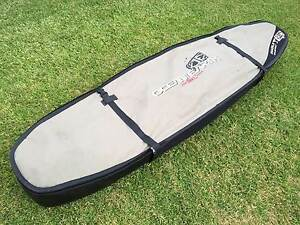 OCEAN & EARTH Double Coffin Shortboard Board Cover  7ft  Fits 1-3 Adamstown Newcastle Area Preview