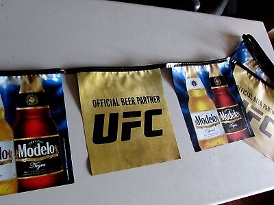18' Modelo UFC Beer String Banner Sign MMA Party Decor Conor McGregor tap out