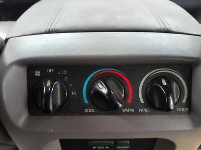 Heater A/c Control LINCOLN NAVIGATOR 00 01 02