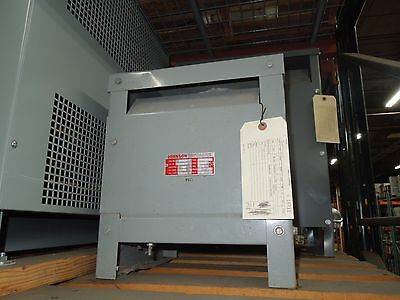 Johnson 24kva 208-240v 1ph Indoor Dry Type Transformer Used