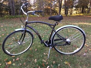 GT Rapid Transit cruiser comfort 4 speed bike