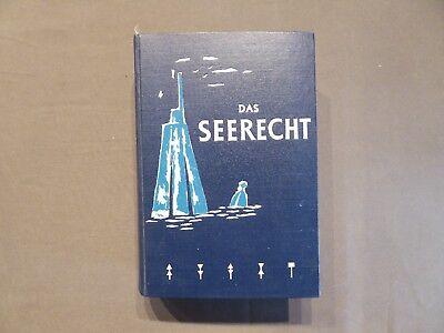 Buch, Das Seerecht der DDR, Kapitän Heinz Propp, Berlin 1960, Schifffahrt