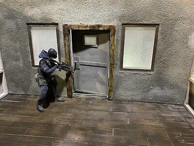 1/12 Scale Action Figure, Security Door, DIY Diorama Wall