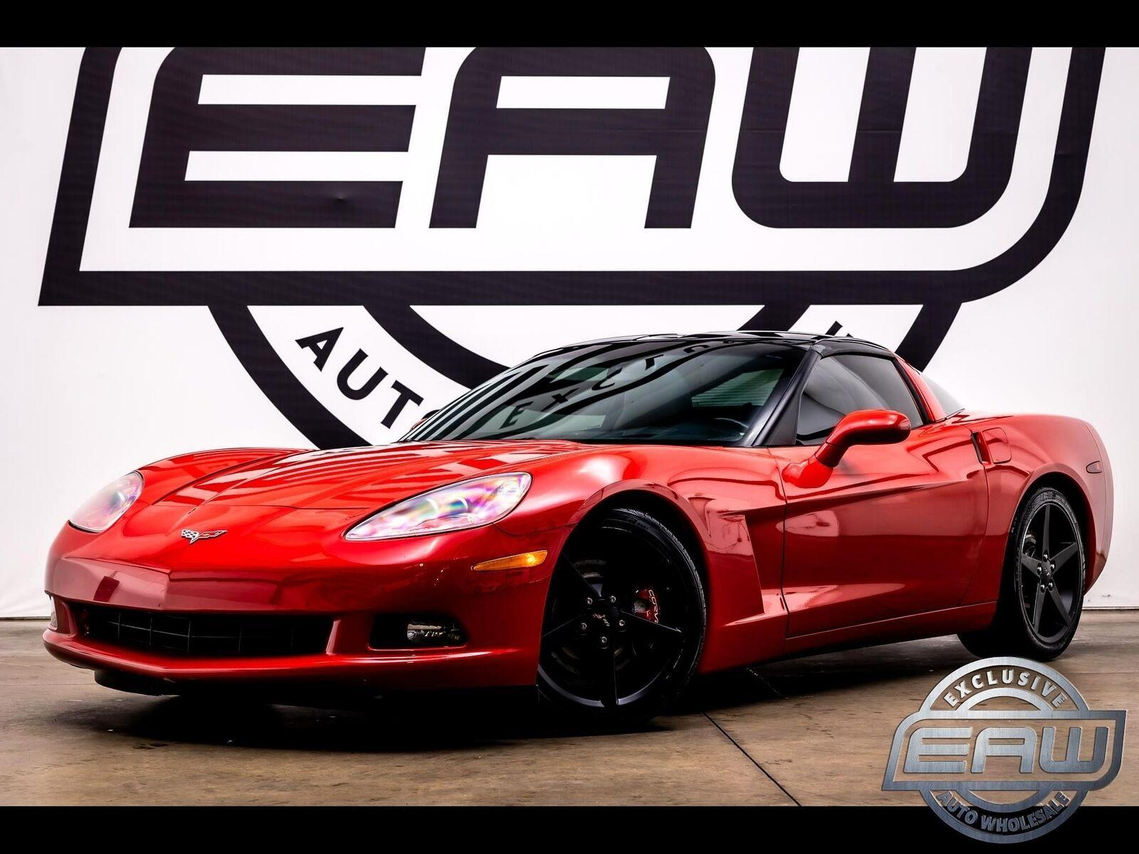 2005 Red Chevrolet Corvette Coupe  | C6 Corvette Photo 1