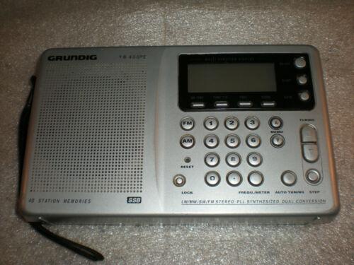 Grundig Yacht Boy YB 400 PE World Receiver AM FM Radio PLEASE READ
