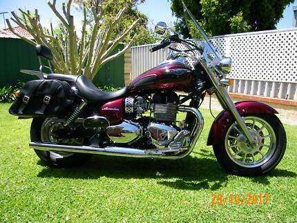 Triumph America Motor Cycle excellent condition