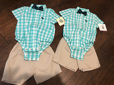 Little Me TWIN Boy Set 9M