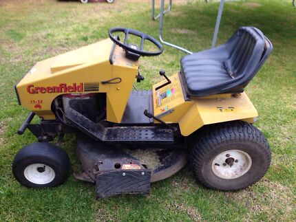Greenfield ride on lawn mower California Gully Bendigo City Preview