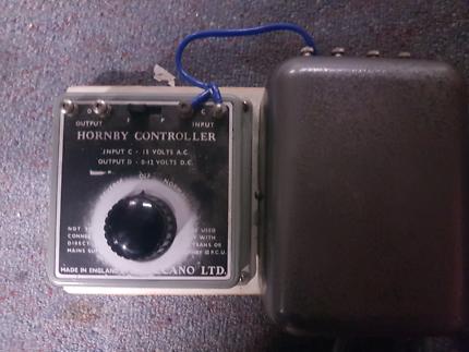 Hornby model train controller