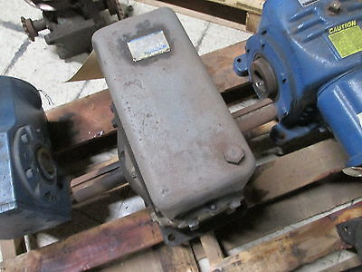 Winsmith Gear Reducer 9-ct Ratio 501 1800rpm 3.49hp Used