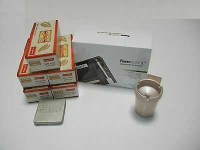 POWERMATIC 2+ ELECTRIC CIGARETTE ROLLING MACHINE+5 FF Tubes,ashtray &more