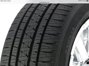 4 pneus d'été usagés 265 / 75 / R16 114T