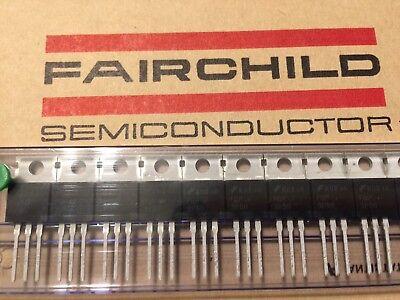 10 Pcs Power Mosfet P-channel Fet Fqp3p50 500v 3a 18nc 9.5pf Fairchild
