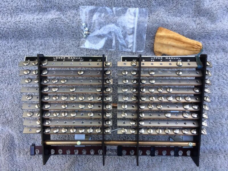 PRESET PANEL ASSEMBLY Hammond A-100 Tonewheel Organ Parts A100 B2 B3 C2 C3 RT3