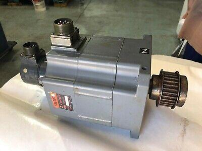 Mazak Mitsubishi Ha100c Ac Servo Motor With Encoder Off Mazak Lathe 4568