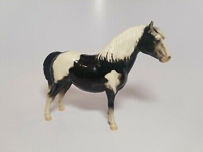 Vintage Breyer Horse Black & White Pony Estate Collection