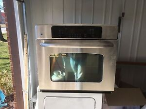Built in oven and stove top