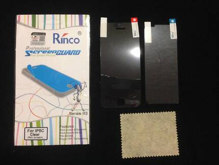 NEW Anti Scratch Clear Screen Protector Front & Back For iPhone5C Giralang Belconnen Area Preview