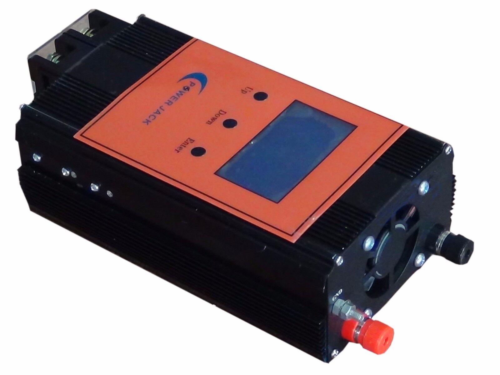 2400w régulateur solaire battery charging 100a 12v/24v chargeur contrôleur