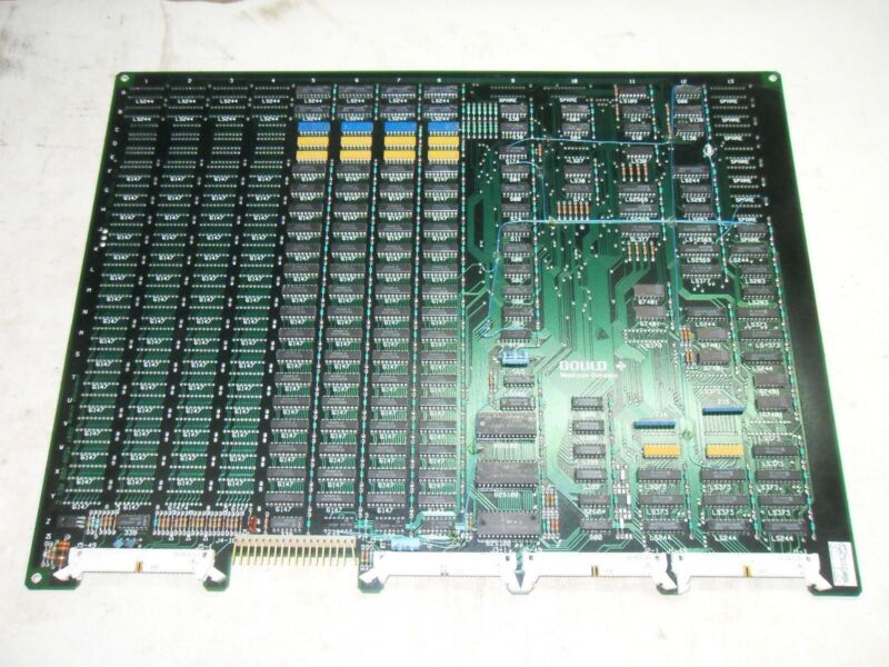 (A3) 1 GOULD MODICON AS-506P-F16 REV C22 MEMORY MODULE