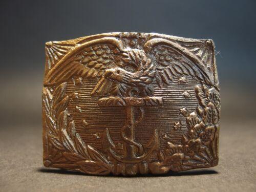 Antique Style Civil War Union Revenue Cutter Service Belt Plate Eagle w Anchor