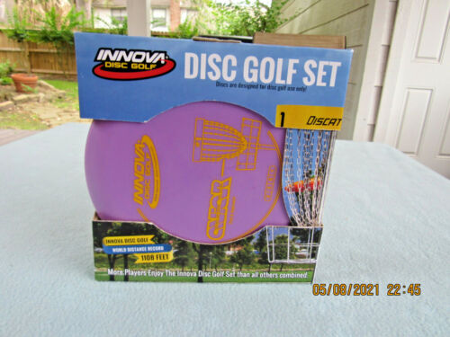Boxed set of Innovi Disc Golf Driver-Mid-Range & Putter New in Box