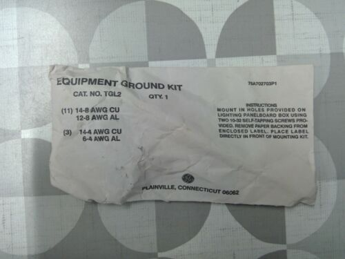 General Electric (GE) TGL2 Equipment Ground Kit **Free Shipping**