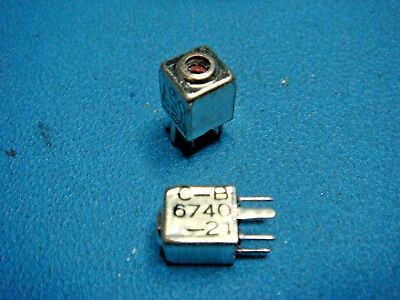 1 Caddell Burns 6740-21 4.7uh Subminiature Shielded Variable Inductor