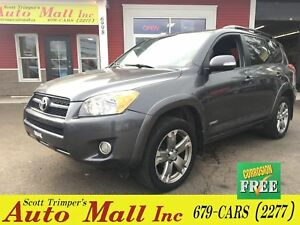 2009 Toyota RAV4 Sport/AWD/Sunroof/Alloys