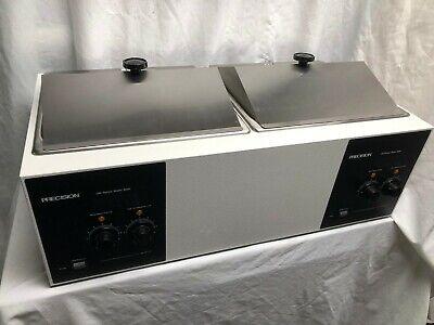 Precision Scientific Dual Water Bath Model Mdl 188 With Accessories