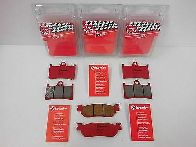 Brembo Sinter Bremsbeläge Bremsklötze vorne + hinten Yamaha R1 YZF-R1 1000 RN09