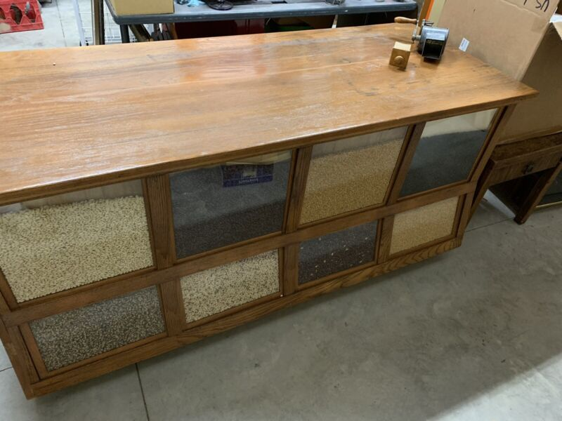 Antique Country Store Seed Cabinet