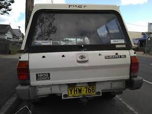 1988 Subaru Brumby Other Coburg Moreland Area Preview