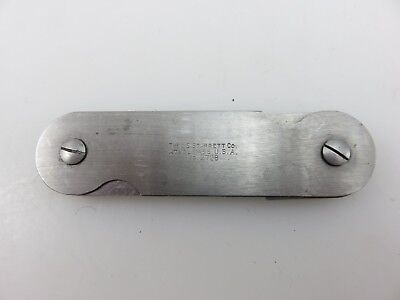 Starrett 272b Fillet Radius Gage Gauge 932- 3364 Stainless Steel Made In Usa